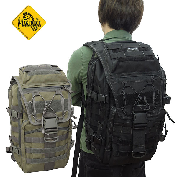 sale MAGFORCE #MF-0521 TYD Computer Backpack 【ブラック】【タン×フォレッジグリーン】