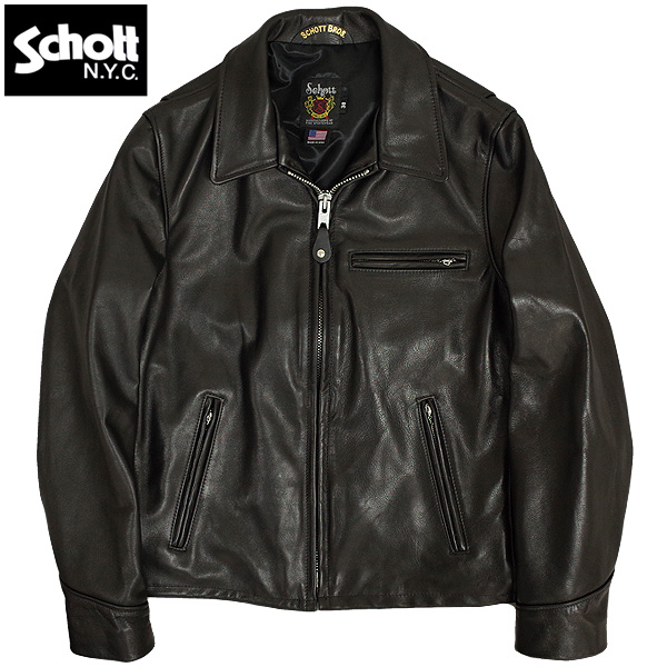 SCHOTT #7209 SCH-103US LEATHER TRUCK JACKET