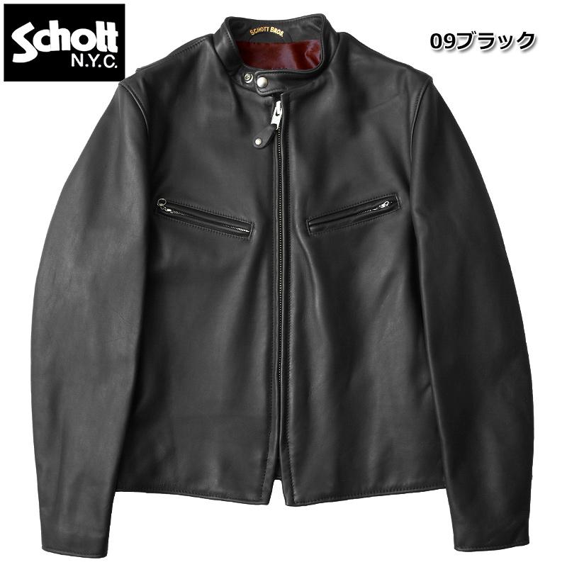 sale Schott #7009 SCHOTT-641XX 60s ライダース レザージャケット 【日本正規販売店】 返品・交換不可