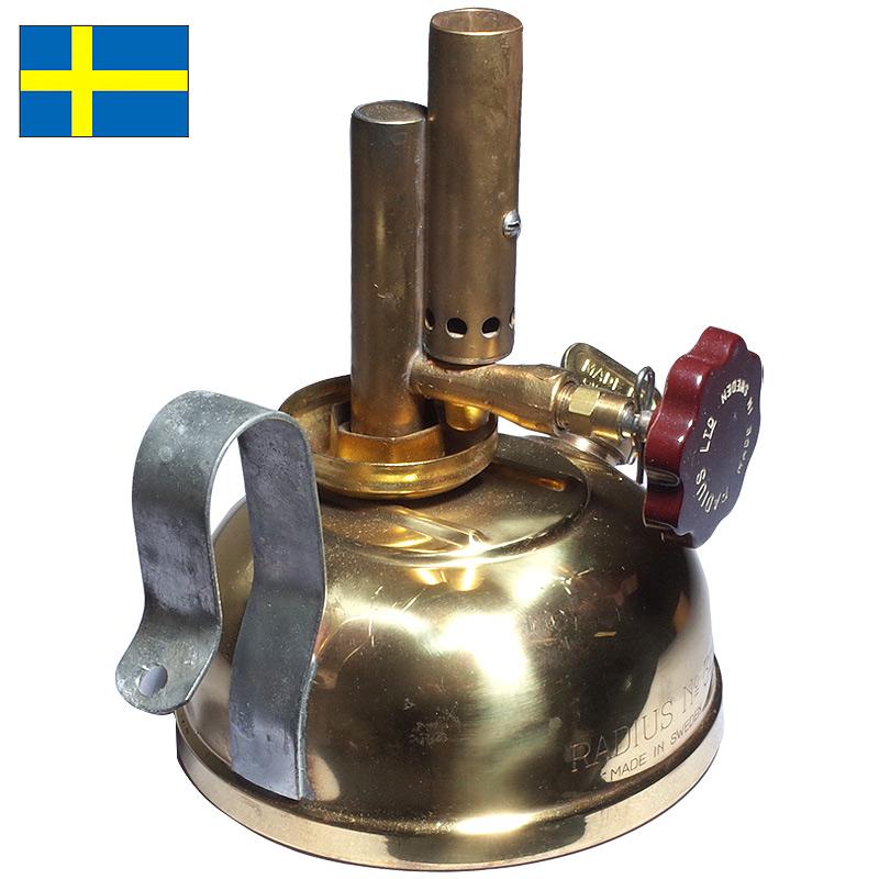 ノベルティープレゼント スウェーデン軍 RADIUS No340 アルコールバーナー デッドストック 【送料無料・沖縄・離島除く】