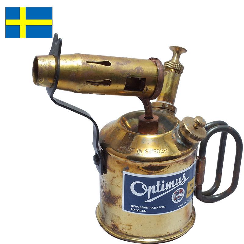 ノベルティープレゼント スウェーデン軍 Optimus 407(406N) ブロートーチ デッドストック 【送料無料・沖縄・離島除く】