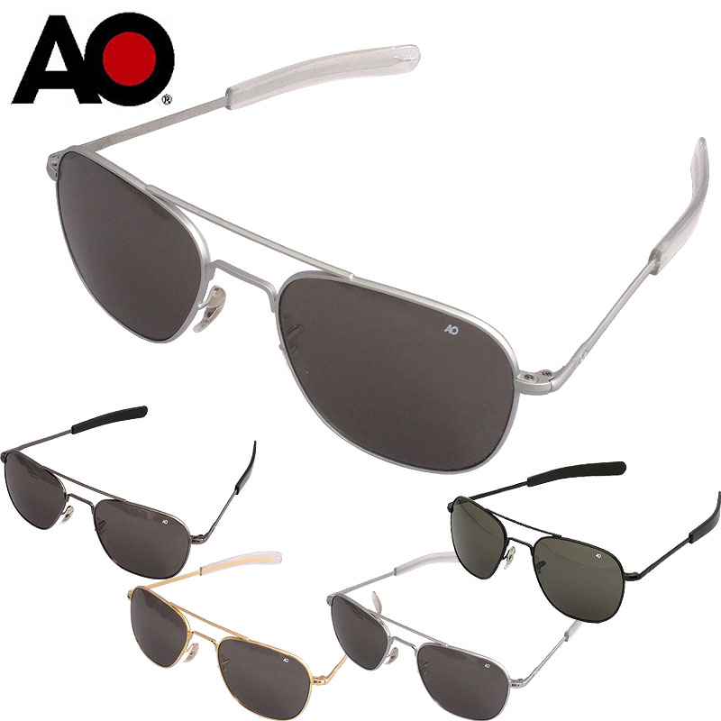 sale American Optical Eyewear Original Pilot シリーズ OP55.BA.TC 「ブラック」「シルバー」「ゴールド」「マットシルバー」