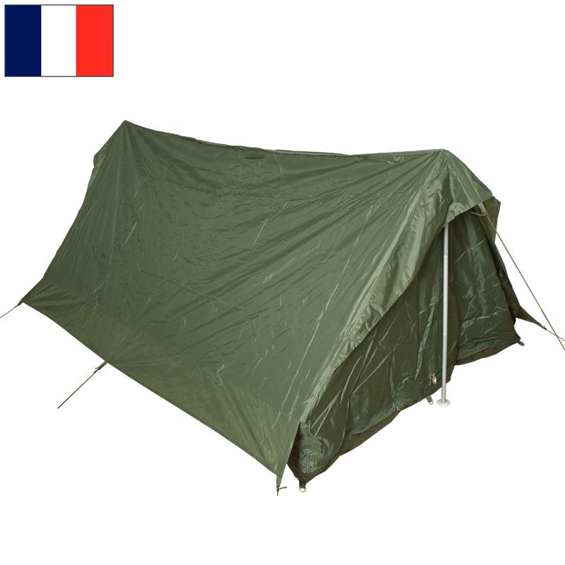 sale フランス軍 テントセット オリーブ 2人用 デッドストック