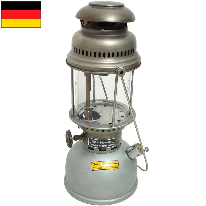 ノベルティープレゼント ドイツ軍 ペトロマックス ランタン スチールケース付き USED 【送料無料・沖縄・離島除く】
