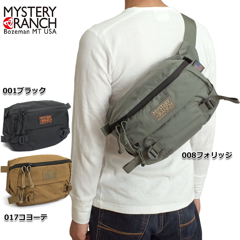 MYSTERY RANCH #1003 ヒップモンキー 18 ウエストバッグ