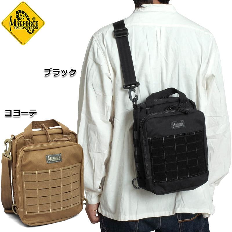 sale MAGFORCE #MF-0341 クーガーポートフォリオ ショルダーバッグ メンズ レディース 2色