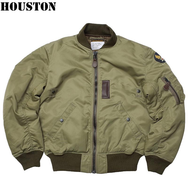 sale HOUSTON ヒューストン #5004 B-15B モディファイ フライトジャケット メンズ B15B アウター ブルゾン MOD