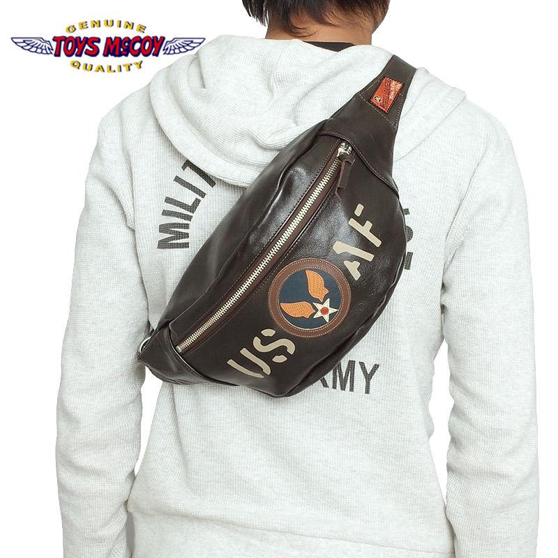 ノベルティープレゼント TOYS McCOY #TMA1606 デュアルブレードバッグ『U.S.A.F.』 【051ブラウン】【送料無料・沖縄・離島除く】