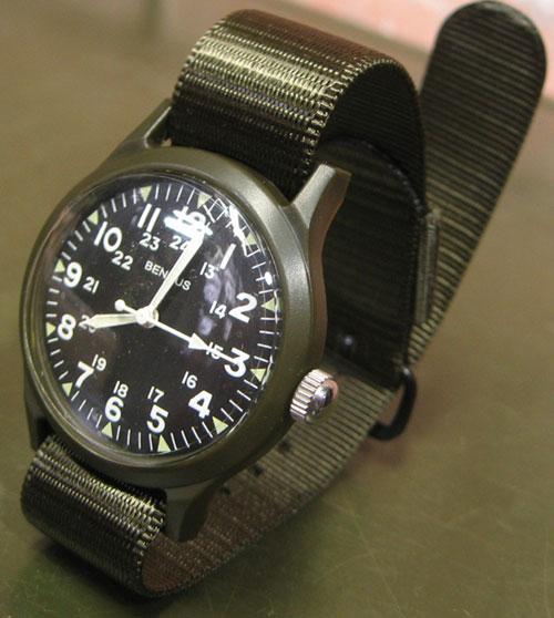 BENRUS #BR763 wrist watch