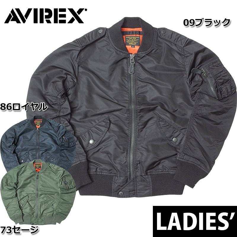 sale AVIREX アビレックス #6252060 レディース L-2 フライトジャケット 『COMMERCIAL』 L2 カジュアル ミリタリー ミリジャケ 春夏 春先 スプリング 返品・交換不可