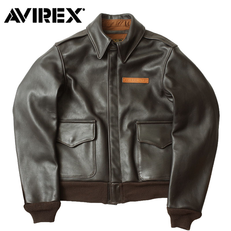 セール AVIREX #2191000 A-2 レザー フライト ジャケット U.S.A 【日本正規販売店】 AVIREX/アビレックス/avirex/アヴィレックス【TKA】