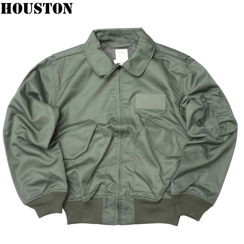 sale HOUSTON #5CW36P CWU-36/P フライトジャケット メンズ セージ XS-2XL