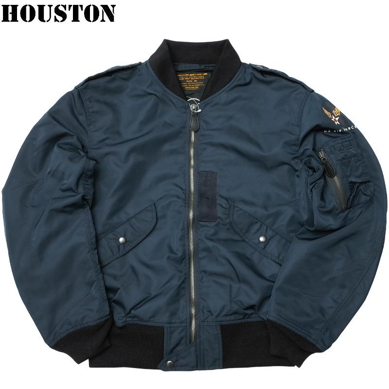 sale HOUSTON #5L-2AX L-2A フライトジャケット L2A ブルゾン メンズ ライトゾーン カジュアル ミリタリー ミリジャケ 春夏 春先 スプリング