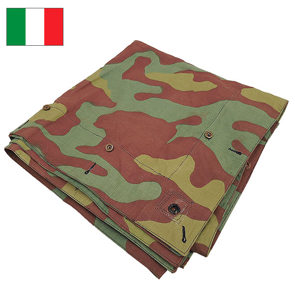 Is the Italy military tent sheet USED release. Solid Camo fabric. And have USED special texture depending on the device the space partition table cloth ...  sc 1 st  Rakuten & SEABEES Military Department Store | Rakuten Global Market: Italian ...