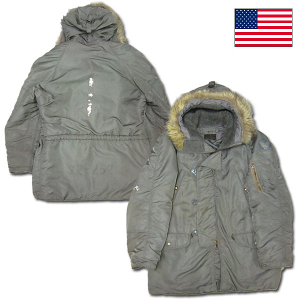◆ ◆ U.S. real ALBERT TURNER, N3B flight jacket MIL-J-6279D AF 36 (600)-5327 #SB100615-03.