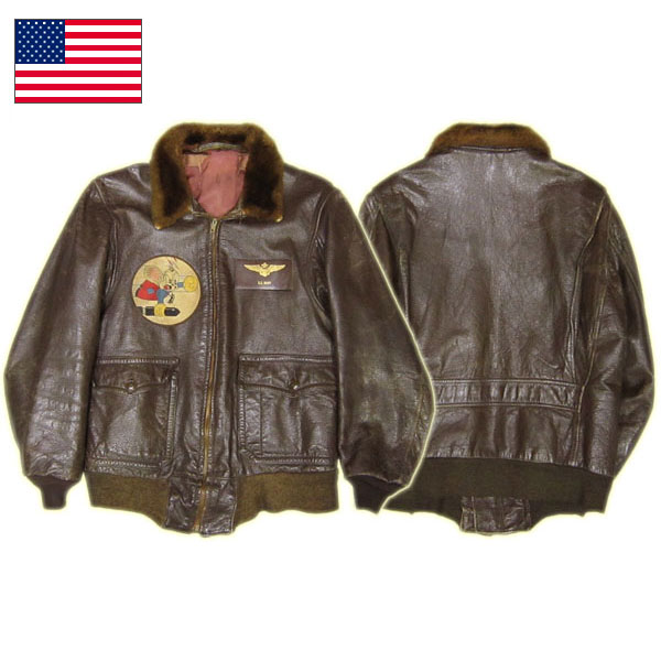 米軍G-1フライトレザージャケット #SB100525-1 USED【TKA】