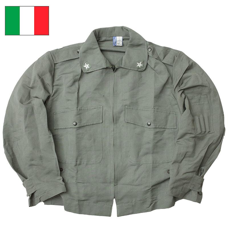 ミリタリージャケット 限定価格セール JKT エアフォース ふるさと割 イタリア軍 AFパイロットジャケット デッドストック グレー