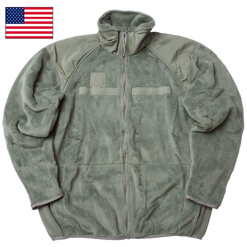 米軍 #UD1845 Gen I Level 3 ECWCS フリースジャケット メンズ フォリッジ SL-MR【TKA】