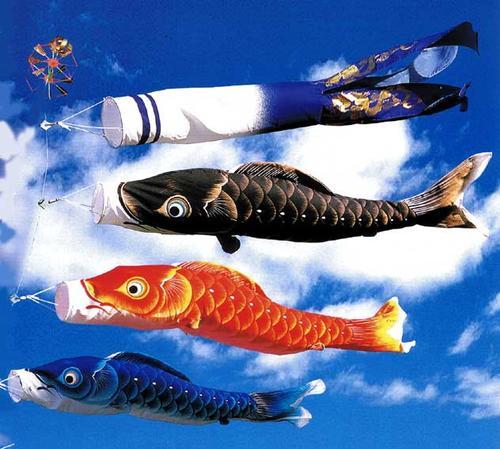 【鯉のぼり ちりめん】1.2m龍雅鯉 DX万能台セット【ベランダセット】【送料無料】
