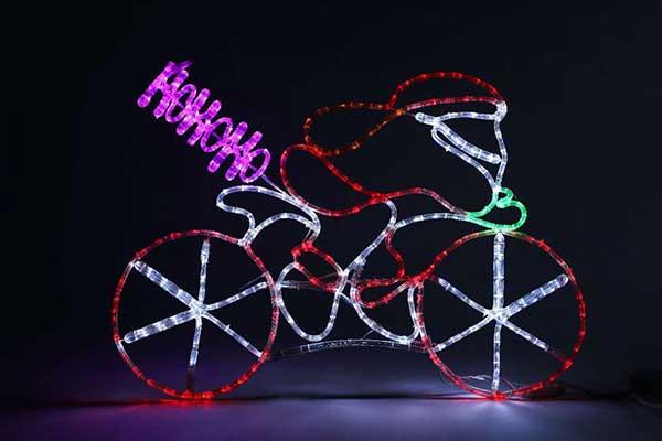 LEDサイクリングサンタ【電飾】