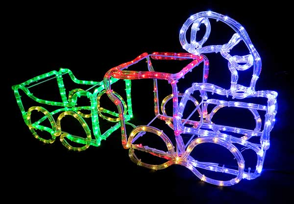 LEDチューブライト トレイン2車両【電飾】【イルミネーション】