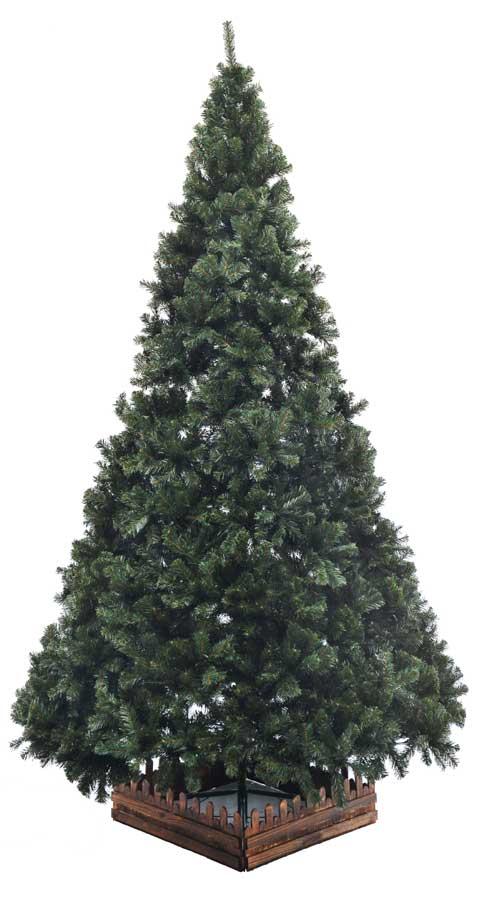 300cm幅広DX濃緑 品質保証高級ツリー木枠付【クリスマスツリー】【送料無料】