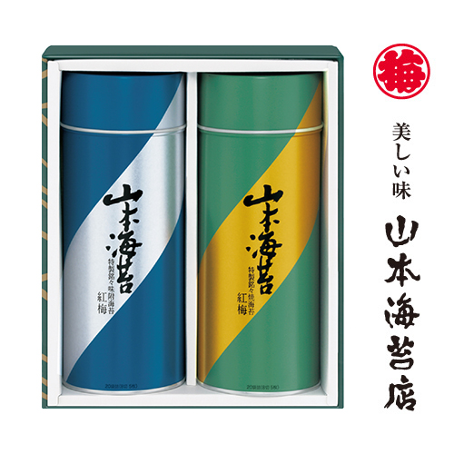 Koubai assortment - Roasted dried seaweed and Seasoned seaweed (ykp5a)