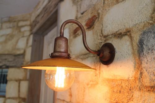インダストリアルライト オレンジ系E型【送料無料】1点もの ブラケットライト 室内照明 壁付け 照明 壁掛けライト ブラケット照明 屋外照明 LED ブラケットライト アンティーク レトロ 照明器具 おしゃれ