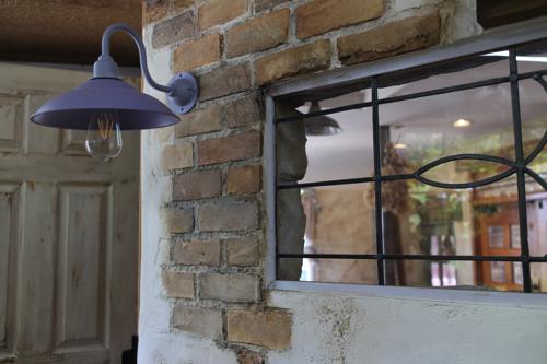 インダストリアル パープル系D型【送料無料】1点もの ブラケットライト 室内照明 壁掛けライト ブラケット照明 屋外照明 照明 LED アンティーク レトロ 照明器具 おしゃれ フレンチカントリー 原宿系 子供部屋 壁付け照明