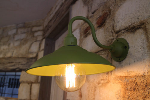 グリーン系D型【送料無料】1点もの ブラケットライト 室内照明 壁掛けライト ブラケット照明 屋外照明 照明 LED アンティーク レトロ 照明器具 おしゃれ 北欧 原宿系 玄関照明 一点物