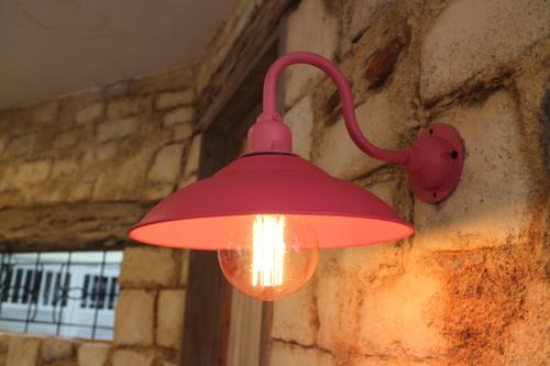 ピンク系D型【送料無料】1点もの ブラケットライト 室内照明 壁掛けライト ブラケット照明 屋外照明 照明 LED アンティーク 子供部屋 照明器具 おしゃれ 北欧 原宿系 玄関照明 一点物