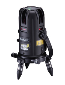 Makita laser chalk SK502PHZ aluminum case with detector, Tripod (sold separately)