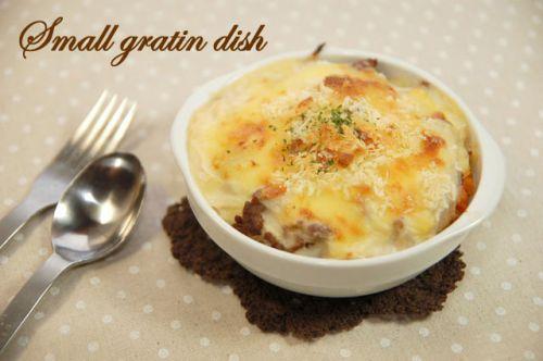 バーゲンセール お気にいる グラタン料理やスープ シリアルボウルにもおすすめです 14cm小さめグラタン皿 深め アウトレット訳あり品