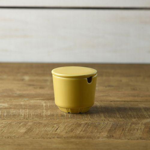 シャープな形状が印象的なモダンデザインのシリーズ ライクス 激安通販ショッピング セール開催中最短即日発送 深山 miyama. シュガーポット 茶こしは付属していません likes-ライクス- マスタード
