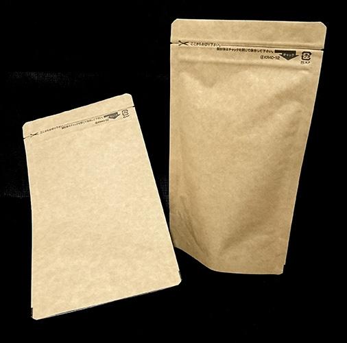 セイニチ ラミジップスタンドパック紙クラフトKR40-121000枚入チャック付【同梱不可】