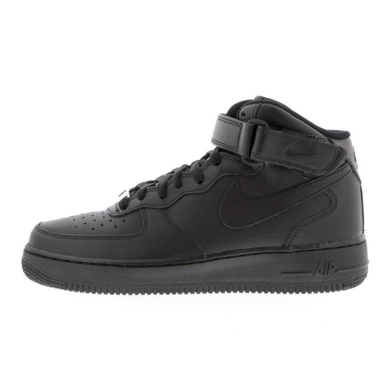 NIKE AIR FORCE 1 MID '07 315123-001 BLACK/BLACK-BLACK ナイキ エア フォース 1 MID 07 ブラック/ブラック/ブラック 315123-001