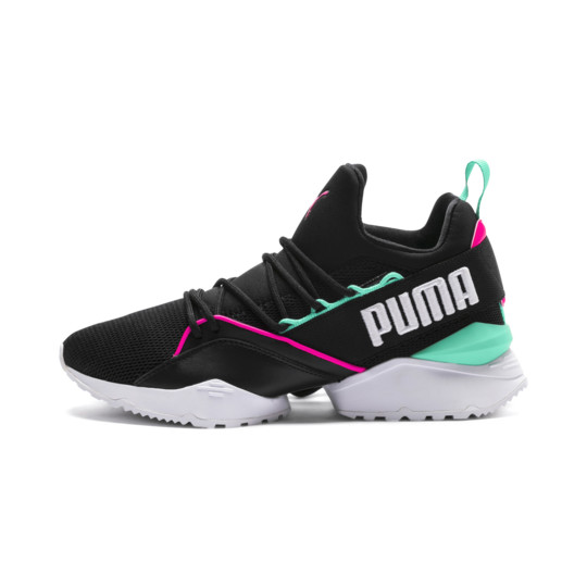 PUMA 18 MUSE MAIA STREET 1 WOMEN'S Puma Black/Knockout Pink 367355-01