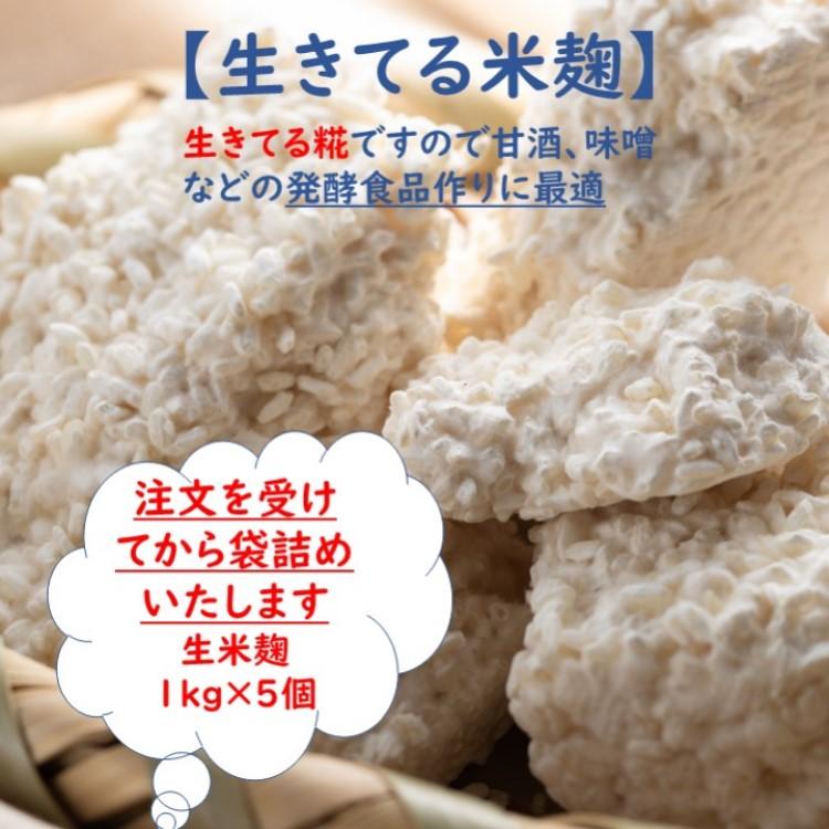 一粒一粒に糀菌がいきわたるよう丹念に手作業にて作り上げました 糀菌や酵素の働きが活発で 旨みを引き出しながら熟成を続ける 発酵食品作りに最適な本物の生きた生糀です 送料無料 生米こうじ 1kg×5 生きた糀 会津産コシヒカリ使用 酵素の働きが活発 冷凍保存可能 発酵食品作りに最適 塩糀 甘酒 味噌 生酵素 超歓迎された 蔵元直送 国産 麹 醤油糀 新鮮 味噌作り こうじ 生麹 醤油麹 大注目 塩麹 みそ作り こうじ水