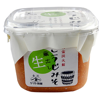 ヤマト醤油味噌 蔵出し 生(なま)こうじ(糀)みそ 750g