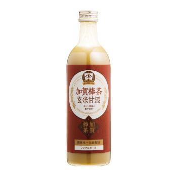 【お得なまとめ買い・送料無料】 加賀棒茶玄米甘酒490ml 48本セット