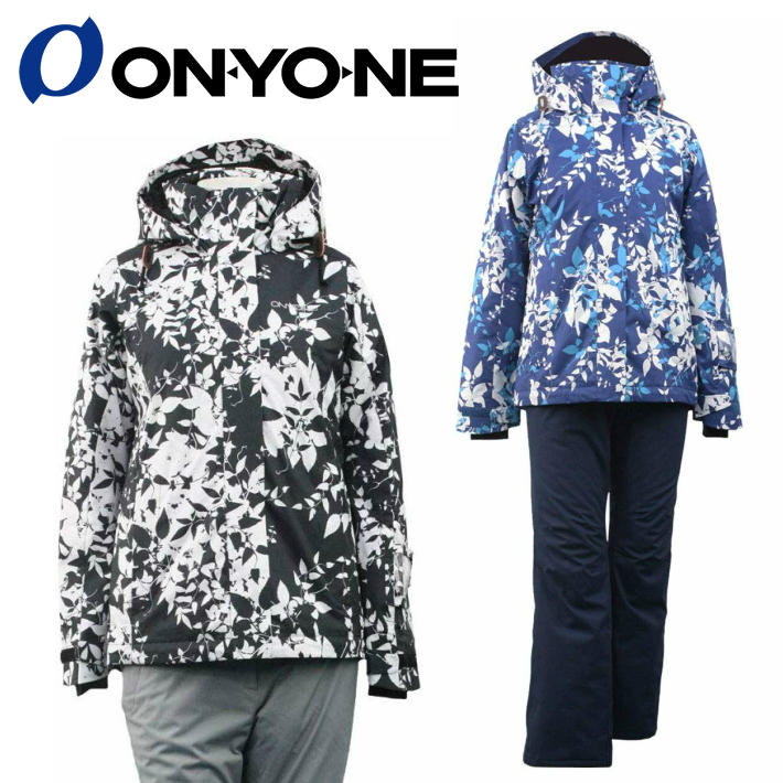 ONYONE オンオネ レディス スキーウェア スノーボードウェア ONS81530 上下セット 2カラー