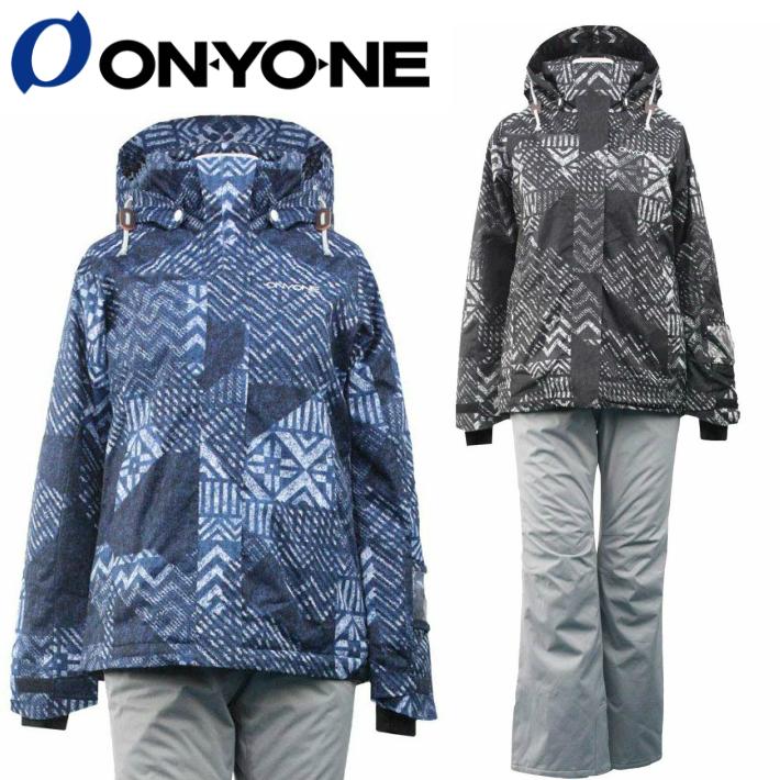 ONYONE オンオネ レディス スキーウェア スノーボードウェア ONS81531 上下セット 3カラー