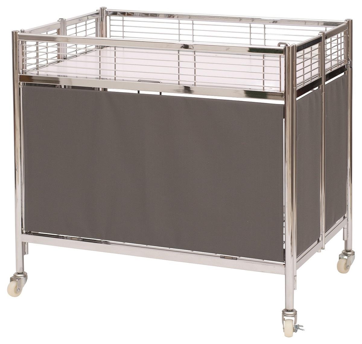 【送料無料!】中折れ式ワゴンW900【グレー】催事などでご使用頂けるテントワゴンです♪折り畳んでコンパクトに!便利な収納棚つき!※お急ぎの際はご注文前に一度在庫をお問い合わせ下さい。