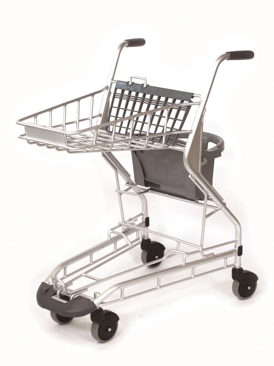 アルミ製軽量子乗せカート子供用のチェアが付いたアルミ製の軽量ショッピングカート在庫切れの場合は、納期をお知らせ致します。
