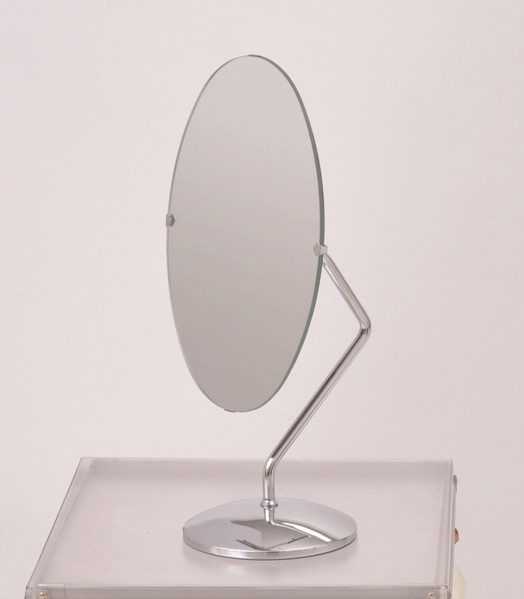 回転鏡 小判型(卓上鏡)在庫切れの場合は納期をお知らせいたします。