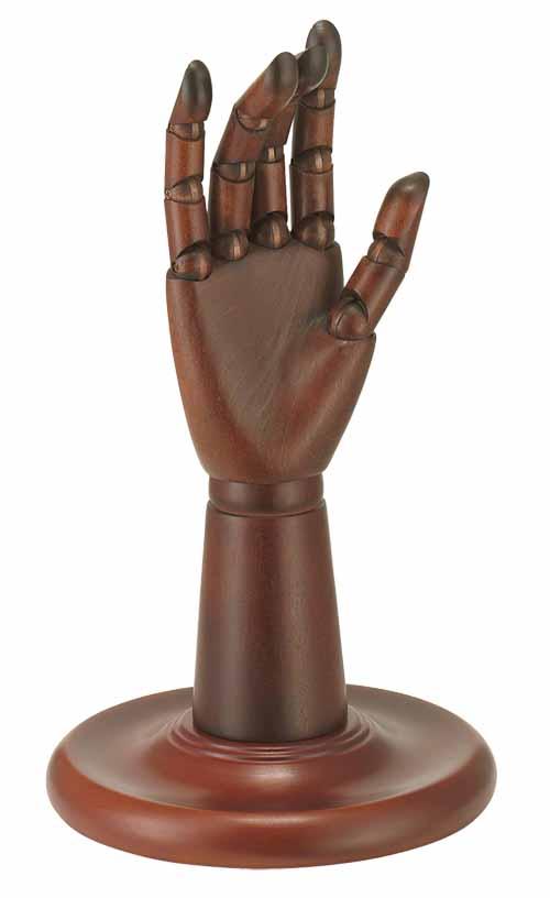 メンズ用ウッドアーム右手 ココア 卓上ツール手袋などのディスプレーに!!在庫切れの場合は、納期をお知らせ致します。