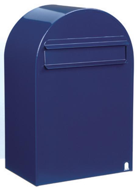 郵便ポスト ポール立て ボンボビ (bonbobi ) ネイビーブルー デザイン ポスト 北欧 郵便受け