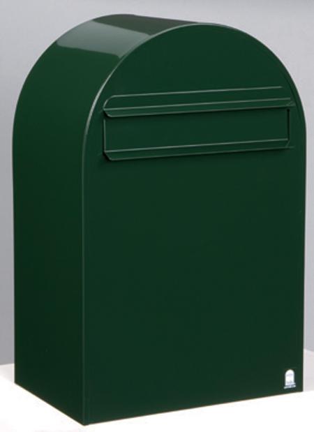 郵便ポスト ポール立て ボンボビ (bonbobi ) ダークグリーン デザイン ポスト 北欧 郵便受け