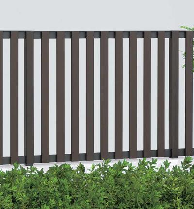 フェンス エクステリア 木質樹脂 ハイパーテーション 1型 1012 H1007 本体のみ ブロック仕様 四国化成