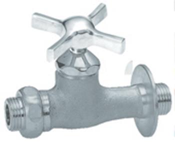 蛇口 水栓金具 補助蛇口 ウエッジクロス ベロアメッキ N213 ニッコー